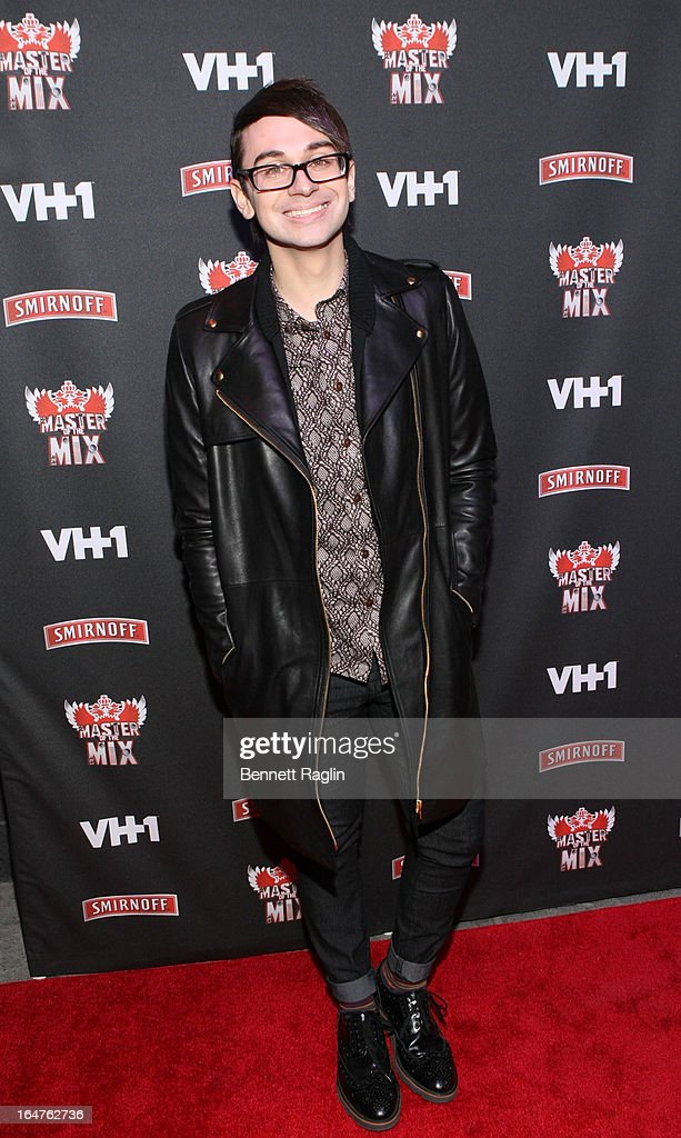 Designer Christian Siriano attends the 'Masters Of The Mix' Season 3 Premiere at Marquee on March 27, 2013 in New York City.