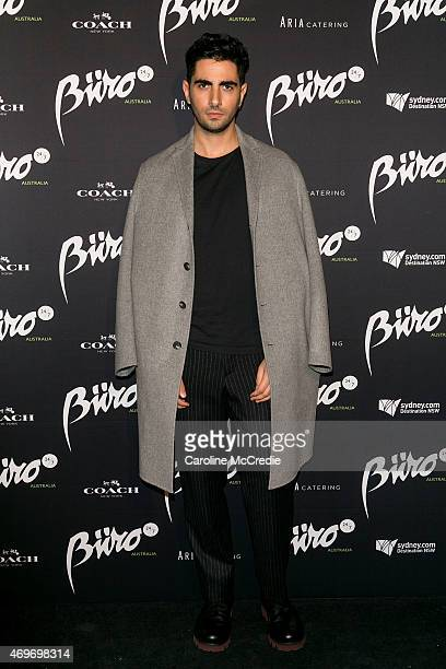 Designer Christopher Esber attends the Buro 24/7 Australia launch at the Sydney Opera House on April 14 2015 in Sydney Australia