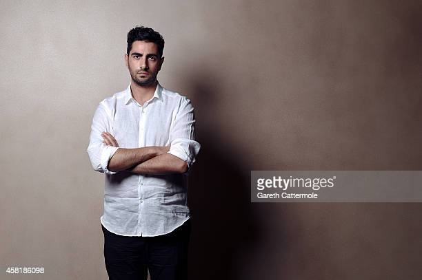 Designer Christopher Esber poses during the Vogue Fashion Dubai Experience on October 30 2014 in Dubai United Arab Emirates