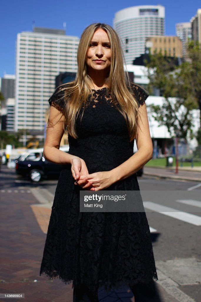 Designer Collette Dinnigan poses during day four of MercedesBenz Fashion Week Australia Spring/Summer 2012/13 at Overseas Passenger Terminal on May 3...