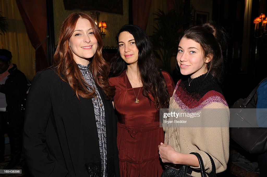 Designer Corey Lynn Calter, Shiva Rose and Coco McDermott attend the COREY Fall 2013 Launch Party hosted by Nora Zehetner at The Jane Hotel on April 3, 2013 in New York City.