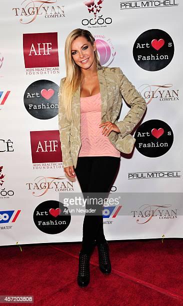 Designer Crystal Hefner appears at Taglyan Cultural Complex on October 13 2014 in Hollywood California