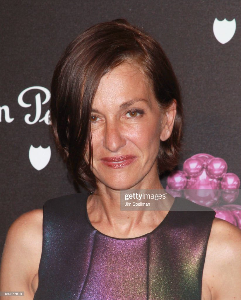Designer Cynthia Rowley attends the Dom Perignon Limited Edition Jeff Koons Bottle Launch at 711 Greenwich Street on September 10, 2013 in New York City.