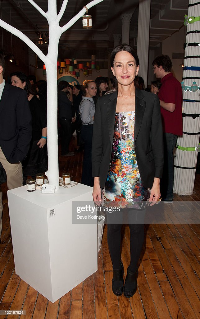 Designer Cynthia Rowley attends the OpenSky Pop-Up Gallery launch at 477 Broome Street on November 10, 2011 in New York City.
