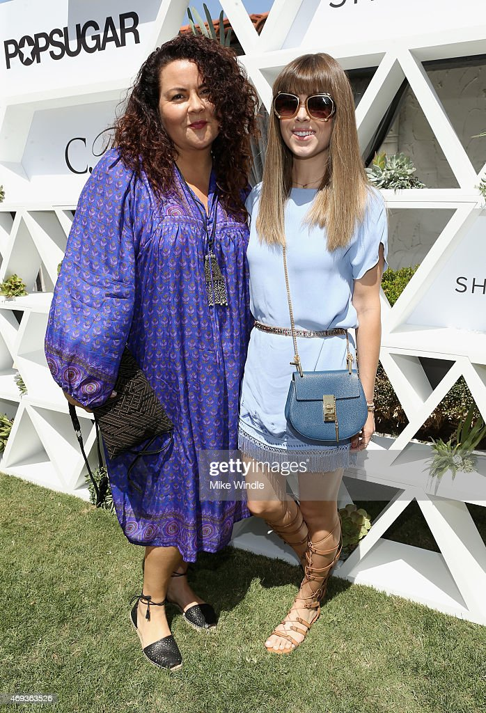 Designer Cynthia Vincent and blogger Jenny Bernheim attends POPSUGAR And The Council Of Fashion Designers Of America Brunch With Designer Mara...