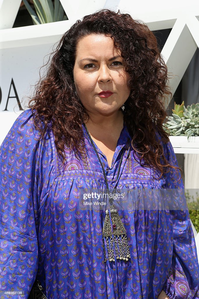 Designer Cynthia Vincent attends POPSUGAR And The Council Of Fashion Designers Of America Brunch With Designer Mara Hoffman At The Cabana Club at the...