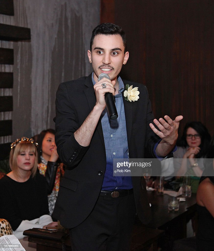 Designer Daniel Silverstein from NBC's Fashion Star attends 2013 Fashion Front Awards NYC at Lair on May 3, 2013 in New York City.
