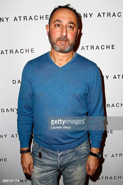 Designer Dany Atrache attends the Dany Atrache Spring Summer 2016 show as part of Paris Fashion Week on January 25 2016 in Paris France