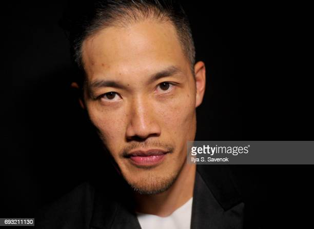 Designer DaoYi Chow poses during the 2017 Gordon Parks Foundation Awards Gala at Cipriani 42nd Street on June 6 2017 in New York City