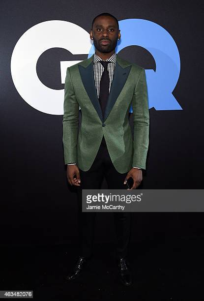 Designer Davidson PetitFrere attends GQ and LeBron James Celebrate AllStar Style on February 14 2015 in New York City