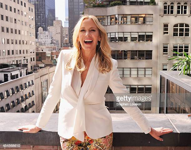 Designer Dee Hilfiger poses for a photo at the Dee Ocleppo by Dee Hilfiger presentation during MercedesBenz Fahion Week Spring 2015 on September 3...