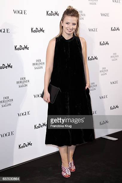 Designer Denitza Margova attends the celebration of 'Der Berliner Mode Salon' by KaDeWe Vogue at KaDeWe on January 18 2017 in Berlin Germany