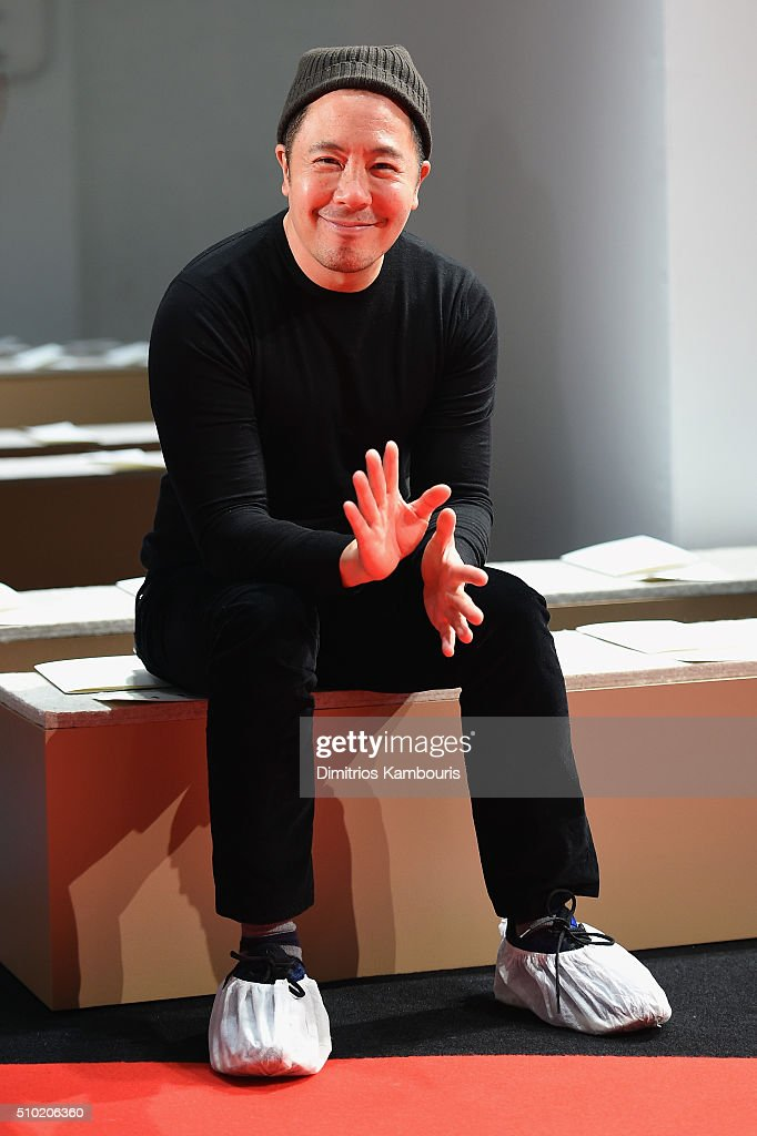 Designer Derek Lam attends rehearsal for the Derek Lam Fall 2016 fashion show during New York Fashion Week: The Shows at The Gallery, Skylight at Clarkson Sq on February 14, 2016 in New York City.