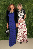 Designer Diane von Furstenberg and Editorinchief of American Vogue Anna Wintour attend CFDA and Vogue 2013 Fashion Fund Finalists Celebration at...
