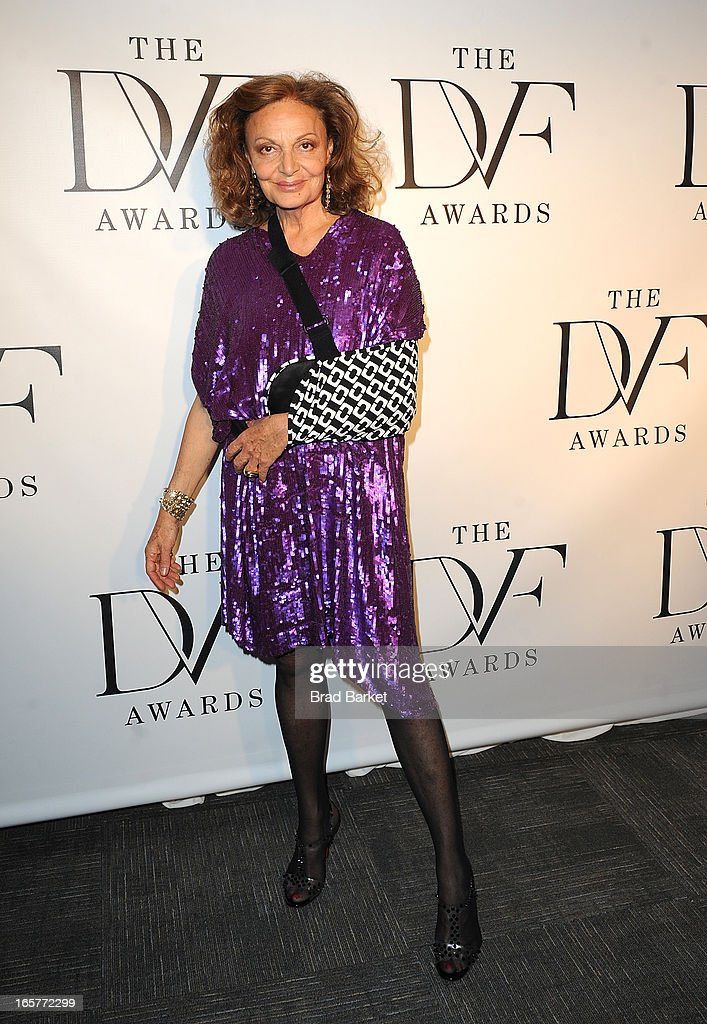 Designer Diane Von Furstenberg attends 2013 DVF Awards at United Nations on April 5, 2013 in New York City.