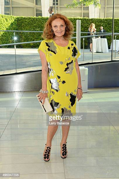 Designer Diane von Furstenberg attends the 2014 CFDA fashion awards at Alice Tully Hall Lincoln Center on June 2 2014 in New York City