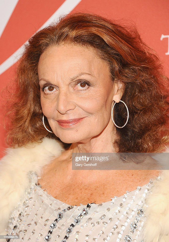Designer Diane Von Furstenberg attends the 30th Annual Night Of Stars presented by The Fashion Group International at Cipriani Wall Street on October 22, 2013 in New York City.