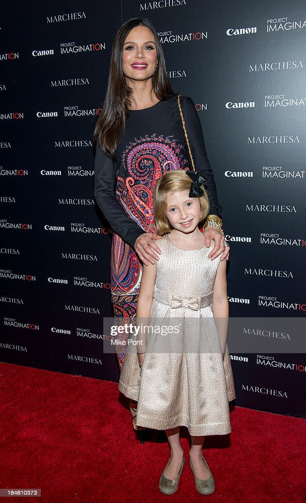 Designer / Director Georgina Chapman and Actress Remy Bond attend the 'A Dream Of Flying' Project Imaginat10n special screening at Crosby Street Hotel on October 16, 2013 in New York City.