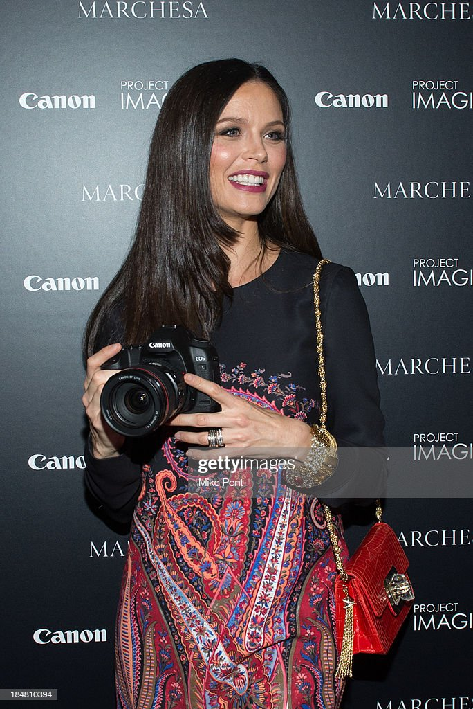 Designer / Director Georgina Chapman attends the 'A Dream Of Flying' Project Imaginat10n special screening at Crosby Street Hotel on October 16, 2013 in New York City.