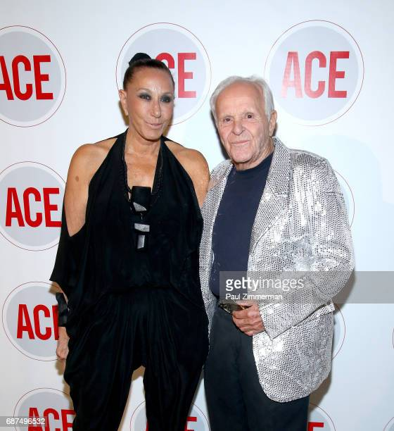 Designer Donna Karan and Henry Buhl attend the 2017 ACE Gala at Capitale on May 23 2017 in New York City