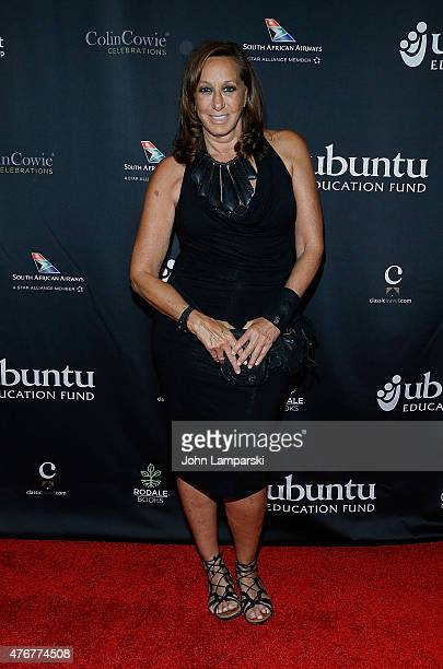 Designer Donna Karan attends 16th Annual Ubuntu Education Fund 1 Million to One Changing The Odds Gala at Gotham Hall on June 11 2015 in New York City