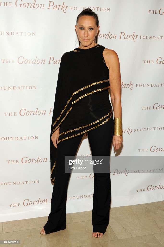 Designer Donna Karan attends 2013 Gordon Parks Foundation Awards at The Plaza Hotel on June 4, 2013 in New York City.