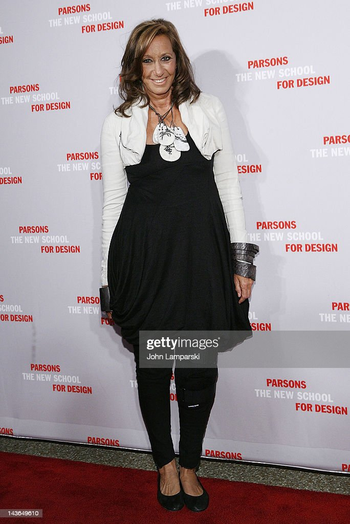 Designer Donna Karan attends the 2012 Parsons Fashion benefit at the Pier Sixty at Chelsea Piers on May 1 2012 in New York City