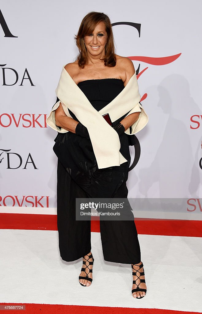 Designer <a gi-track='captionPersonalityLinkClicked' href=/galleries/search?phrase=Donna+Karan+-+Fashion+Designer&family=editorial&specificpeople=4206478 ng-click='$event.stopPropagation()'>Donna Karan</a> attends the 2015 CFDA Fashion Awards at Alice Tully Hall at Lincoln Center on June 1, 2015 in New York City.