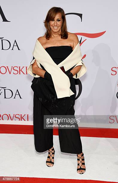Designer Donna Karan attends the 2015 CFDA Fashion Awards at Alice Tully Hall at Lincoln Center on June 1 2015 in New York City