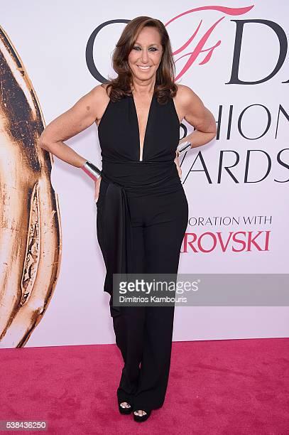 Designer Donna Karan attends the 2016 CFDA Fashion Awards at the Hammerstein Ballroom on June 6 2016 in New York City