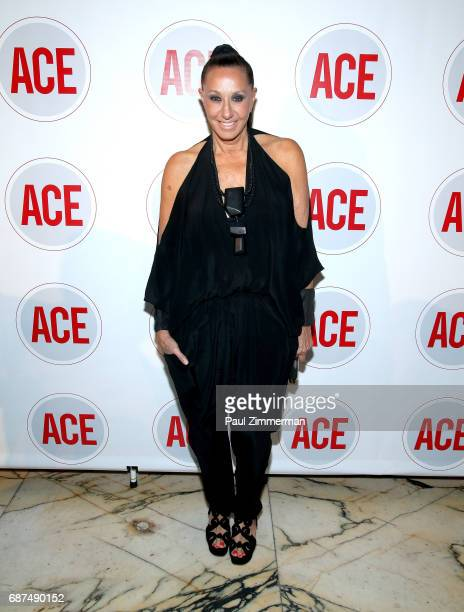 Designer Donna Karan attends the 2017 ACE Gala at Capitale on May 23 2017 in New York City