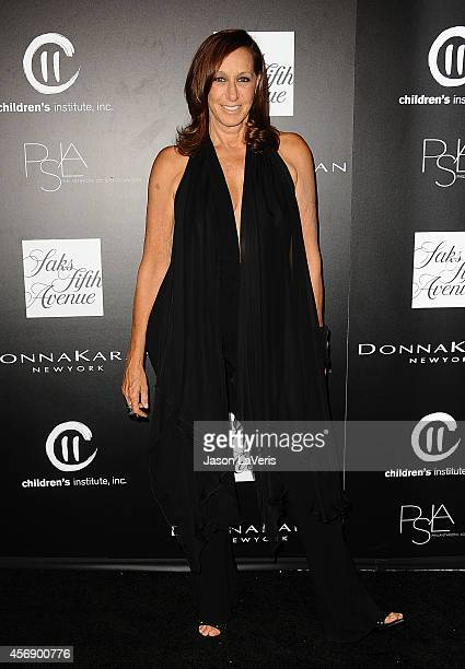 Designer Donna Karan attends the 5th annual PSLA Autumn Party at 3LABS on October 8 2014 in Culver City California