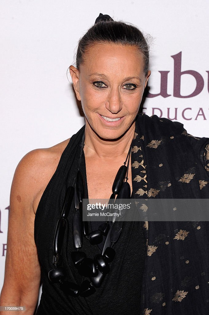 Designer Donna Karan attends the Annual Ubuntu Education Fund NY Gala at Gotham Hall on June 6, 2013 in New York City.
