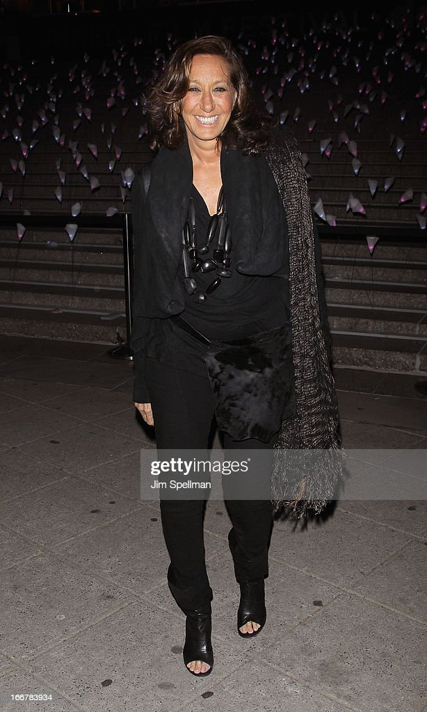Designer Donna Karan attends the Vanity Fair Party during the 2013 Tribeca Film Festival at the State Supreme Courthouse on April 16, 2013 in New York City.