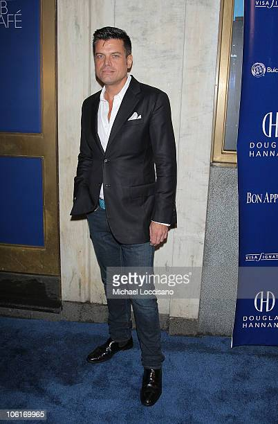 Designer Douglas Hannant arrives to his Tenth Anniversary Celebration at The Bon Appetit Supper Club in New York City on October 26 2007