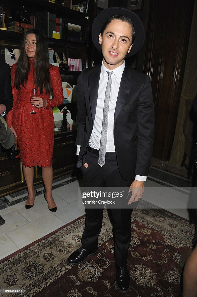 Designer Eddie Borgo attends Moda Operandi and St. Regis Hotels & Resorts event 'A Midnight Supper' to celebrate the launch of the exclusive Punk Collection on preview at The St Regis New York on May 4, 2013 in New York City.
