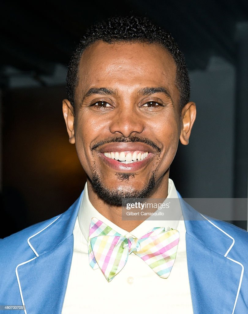 Designer Edwing D'Angelo attends the opening night of the 2nd annual Colombian International Film Festival at Tribeca Cinemas on March 26, 2014 in New York City.