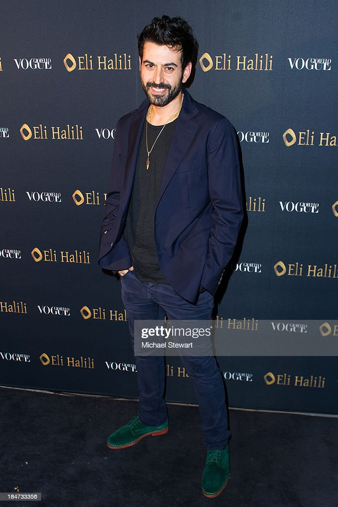 Designer Eli Halili attends the Eli Halili Soho Boutique Grand Opening with Vogue Gioiello on October 15, 2013 in New York City.