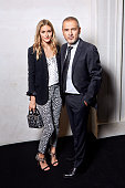 Designer Elie Saab and socalite Olivia Palermo are photographed for Madame Figaro on July 9 2014 in Paris France PUBLISHED IMAGE CREDIT MUST READ...