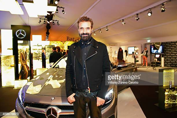 Designer Ennio Capasa attends the Notte Italiana presented by Troi Pommes Event during the MercedesBenz Fashion Days Zurich 2014 on November 14 2014...