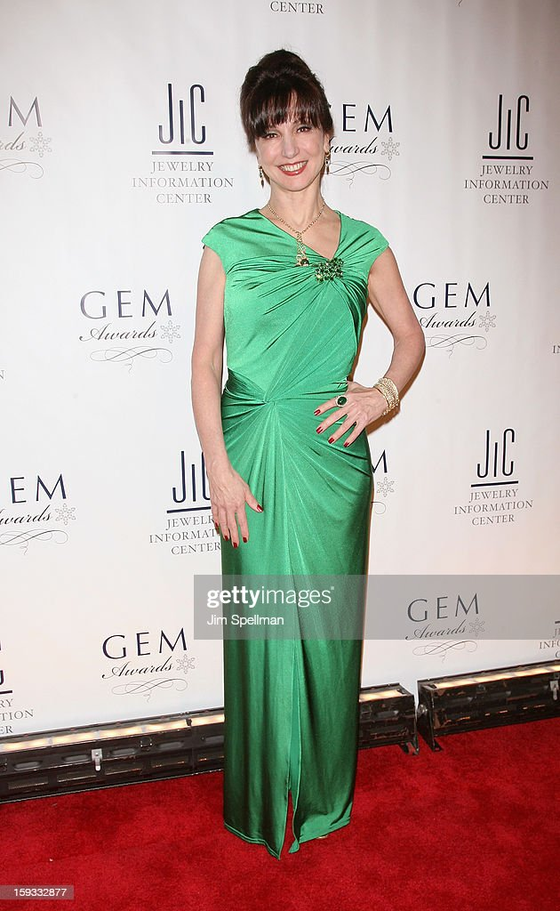 Designer Erica Courtney attends the 11th Annual GEM Awards Gala at Cipriani 42nd Street on January 11, 2013 in New York City.