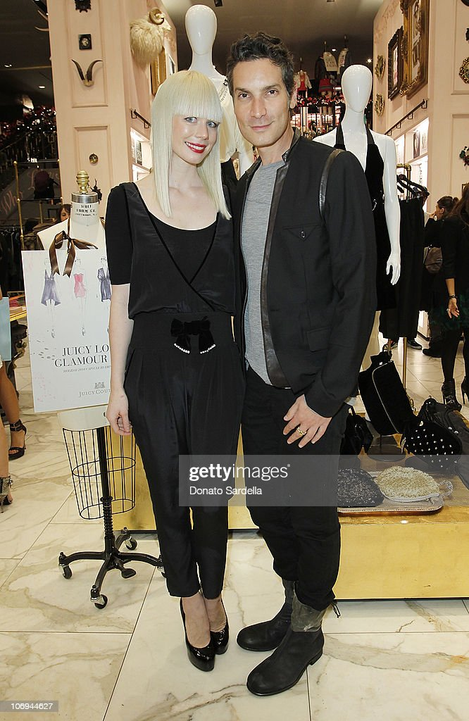 Designer Erin Fetherston and <a gi-track='captionPersonalityLinkClicked' href=/galleries/search?phrase=Cameron+Silver&family=editorial&specificpeople=546426 ng-click='$event.stopPropagation()'>Cameron Silver</a> attend Juicy Loves Glamour Girls by Erin Fetherston Launch hosted by Vogue at Juicy Couture on November 17, 2010 in Beverly Hills, California.