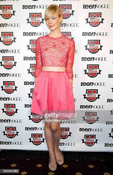 Designer Erin Fetherston attends Teen Vogue Fashion University at the Hudson Theatre on October 20 2012 in New York City