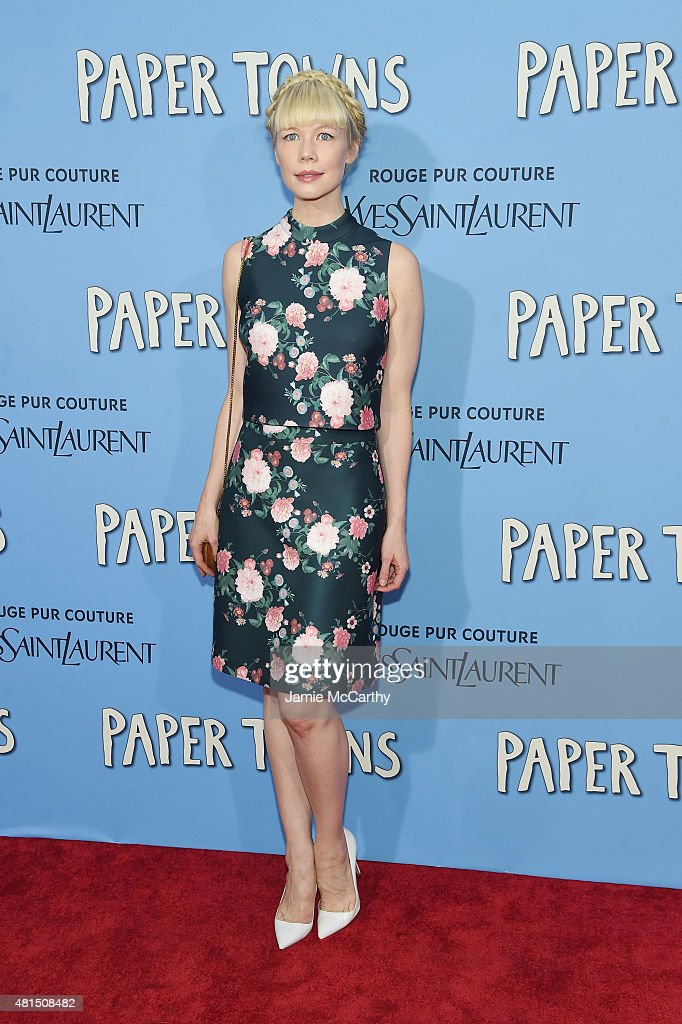 Designer Erin Fetherston attends the New York premiere of 'Paper Towns' at AMC Loews Lincoln Square on July 21, 2015 in New York City.