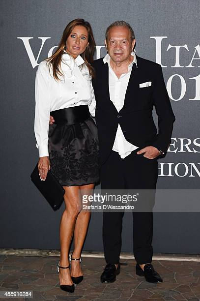 Designer Ermanno Scervino attends Vogue Italia 50th Anniversary Event on September 21 2014 in Milan Italy