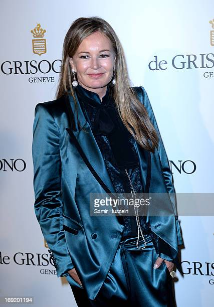 Designer Eva Cavalli attends the 'De Grisogono' Party during The 66th Annual Cannes Film Festival at Hotel Du Cap Eden Roc on May 21 2013 in Antibes...
