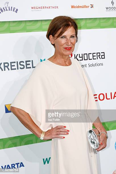 Designer Eva Lutz attends the Green Tec Award at ICM Munich on May 29 2016 in Munich Germany