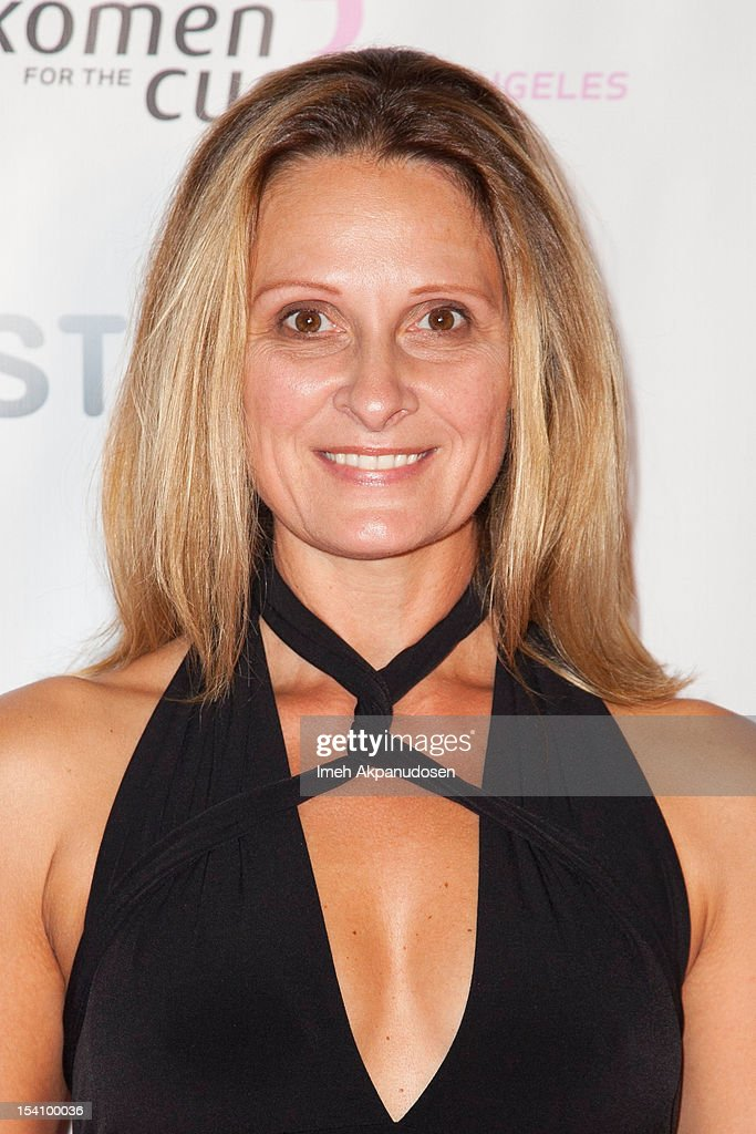 Designer Eva Varro attends the 2nd Annual Designs For The Cure Gala at Millennium Biltmore Hotel on October 13, 2012 in Los Angeles, California.