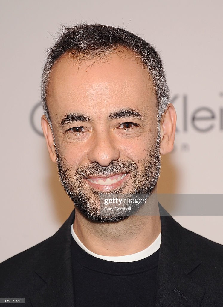 Designer Francisco Costa attends the Calvin Klein Collection post show event at Spring Studios on September 12, 2013 in New York City.