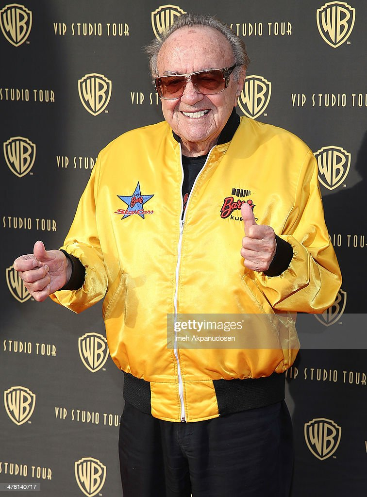 Designer George Barris attends the Warner Bros. VIP Tour 'Meet The Family' Speaker Series at Warner Bros. Tour Center on March 11, 2014 in Burbank, California.